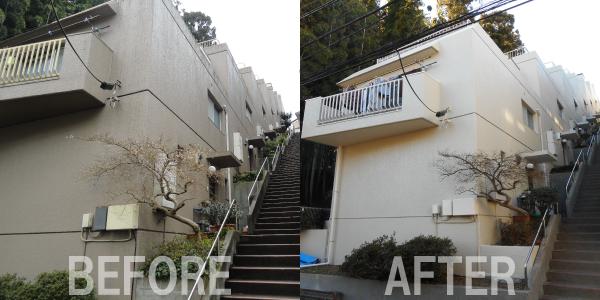 集合住宅 塗装